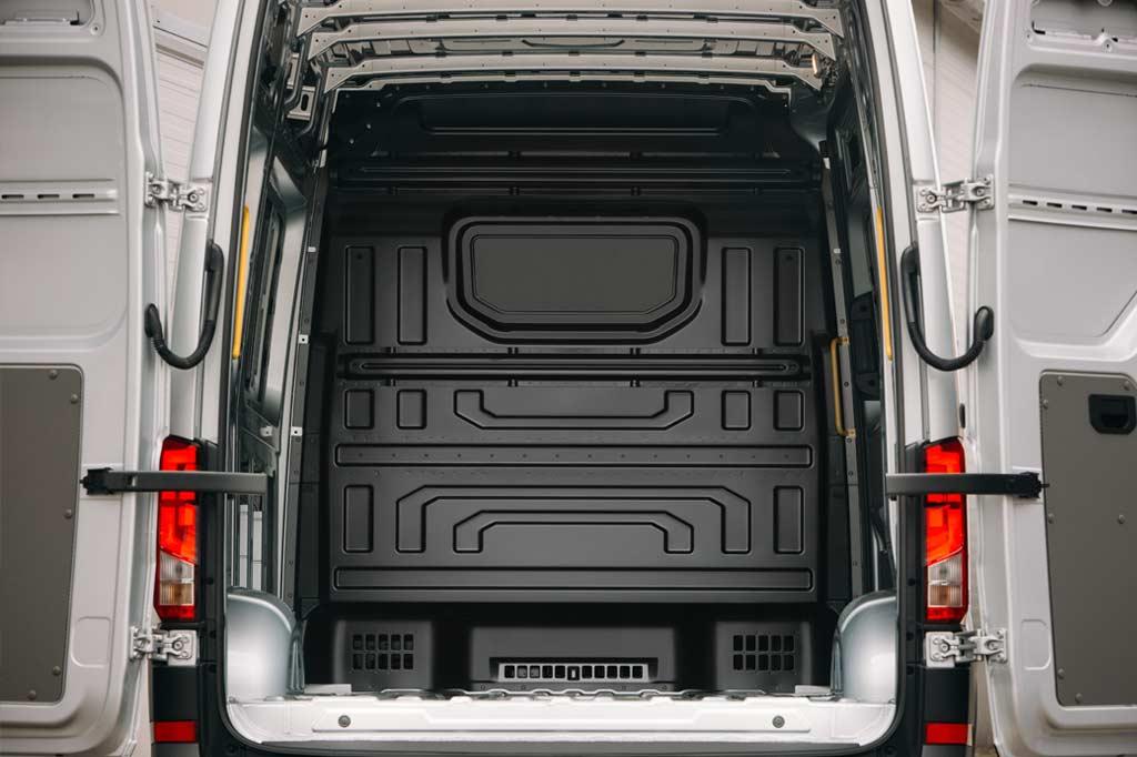 Van inside/interior